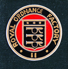 Royal Ordnance factories logo