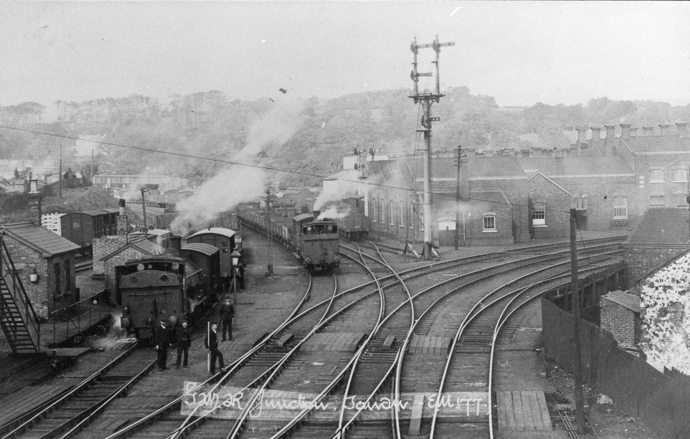 GWR Tondu junction 1905